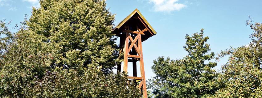 Glockenturm in Kleinendorf