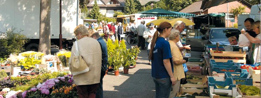 Rahdener Wochenmarkt